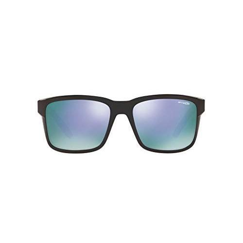 100%本物 Arnette Men's AN4218 57 Swindle Rectangular Sunglasses, Black/Grey Black/Grey Mirror AN4218 Violet, 57 mm【並行輸入品】, ラウスチョウ:7a966f5d --- grafis.com.tr