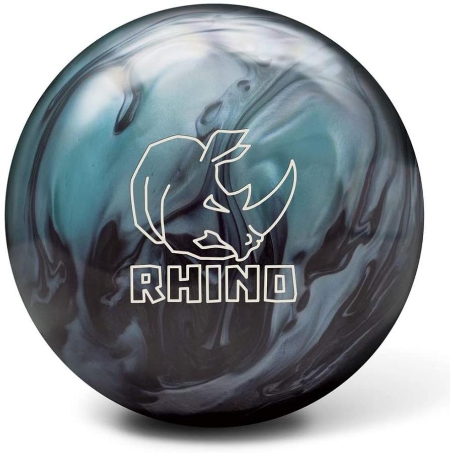 【メーカー公式ショップ】 Brunswick Rhino Reactive PRE-DRILLED Bowling Ball- Metallic Blue/Black 16lbs 並行輸入品, K-ART 084c433d