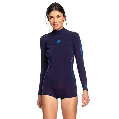 100%本物 Roxy Womens 2/2Mm Syncro - Long Sleeve Back Zip Flt Springsuit - Women - 12 - Blue Blue Ribbon/Coral Flame 12 並行輸入品, タキネマチ 62a0928f