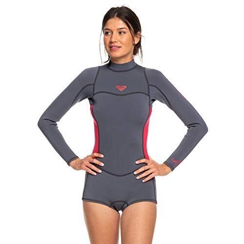 最新人気 Roxy Womens 2/2Mm Syncro - Long Sleeve Back Zip Flt Springsuit - Women - 10 - Pink Deep Grey/Scarlet 10 並行輸入品, 照明ライト イルミっ子 b7e9c681