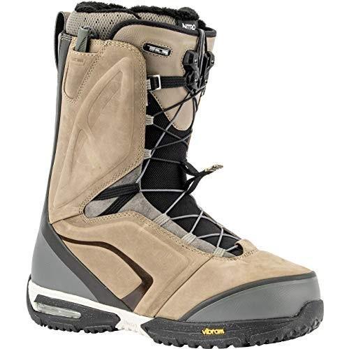 数量は多い  Nitro El Mejor TLS Snowboard Boot - Men's Stone/Black, 10.5 並行輸入品, セキカワムラ ebe6dc66