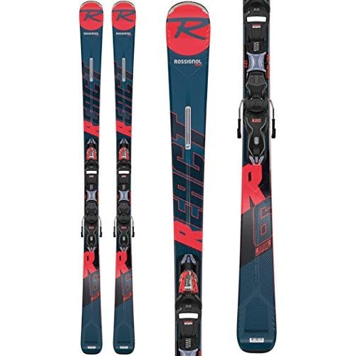 独特な Rossignol React R6 Compact/Xpress 11 GW Ski Package Mens Sz 163cm Black/Red 並行輸入品, 石の里 SiN e159c3e0