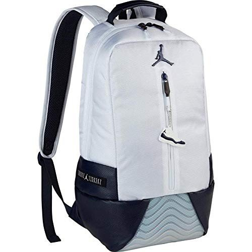 数量は多 Jordan New Pack Other Retro New 11 Basketball Back Pack Jordan (One Size, White/Obsidian)【並行輸入品】, 赤や(インテリア家具通販):95d79125 --- fresh-beauty.com.au