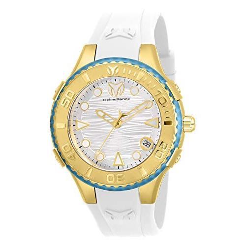 宅配便配送 Technomarine Women's Cruise Stainless Steel Quartz Watch with Silicone Strap, White, 23 (Model: TM-118000) 並行輸入品, 【外部サイト】UGG Australia公式 a684d130
