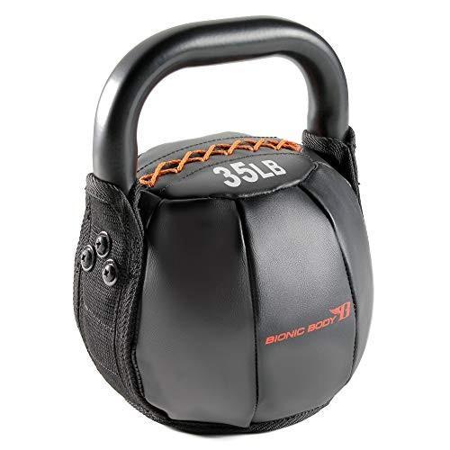 【ラッピング不可】 Bionic Body Soft Kettlebell with Handle - 10, 15, 20, 25, 30, 35, 40 lb. for Weightlifting, Conditioning, Strength and core Training【並行輸入品, p.o.s.h. Online Store 022866bb