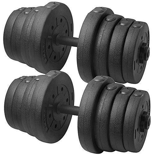 魅力的な価格 Topeakmart Topeakmart 66LB Adjustable Dumbbell Weight Set Home Adjustable Gym Barbell Barbell Plates Muscle Body Training【並行輸入品】, タナカスポーツ:d6e82ca8 --- airmodconsu.dominiotemporario.com