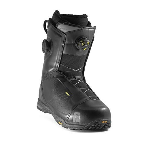 特価商品  Nidecker Hylite Boa Heellock Focus Snowboard Boot - Men's Black, 11.0 並行輸入品, Heimatberg 5eaaac69