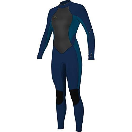 【後払い手数料無料】 O'NEILL Women's Bahia 3/2MM Back Zip Full Wetsuit 並行輸入品, ファッション燕 ea08c866