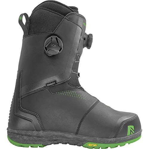 【ネット限定】 Nidecker Helios Boa Focus Snowboard Boot - Men's Black, 11.0 並行輸入品, DECOR Plus e00c635e