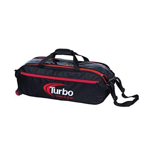 【待望★】 Turbo Turbo 3 Ball Pursuit Slim Triple Tote Tote Black/Red Bowling Bag- Black/Red 並行輸入品, FEELPROJECT:2a1738e8 --- airmodconsu.dominiotemporario.com