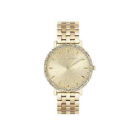 良質  Rebecca Stainless Minkoff Strap, Women's 2200348) Major Quartz Watch with Gold Tone Stainless Steel Strap, 16 (Model: 2200348) 並行輸入品, Flower:cf18c498 --- airmodconsu.dominiotemporario.com