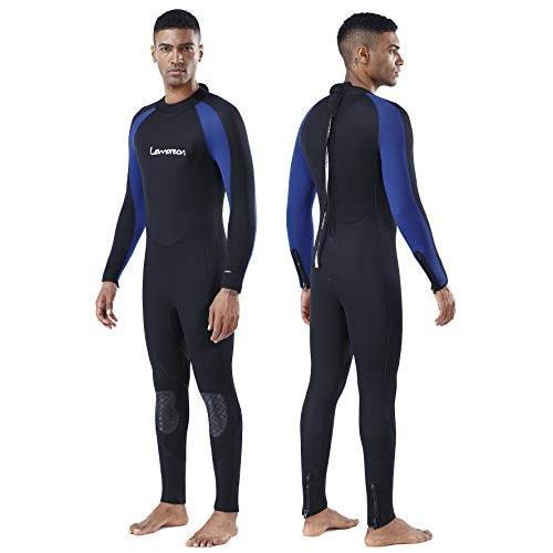 【メール便不可】 Lemorecn Mens Mens Wetsuits Jumpsuit Neoprene 3/2mm Body Lemorecn and 5/4mm Full Body Diving Suit for Men and Women(3051blackblue-3XL) 並行輸入品, リカーショップ ヒラオカ:553ea1e2 --- airmodconsu.dominiotemporario.com