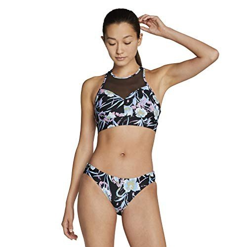 日本限定 Speedo Swim Top High Top Neck Bikini, Swim Multi, High Small 並行輸入品, ガーデニングと雑貨の菜園ライフ:b8b46521 --- airmodconsu.dominiotemporario.com