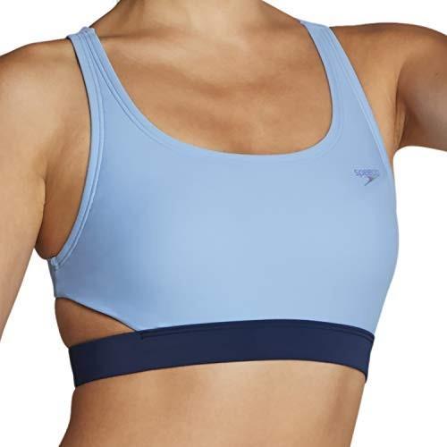 上品なスタイル Speedo Swim Top Bikini, Robbia Blue, Medium 並行輸入品, 質Shop 天満屋 cde31446