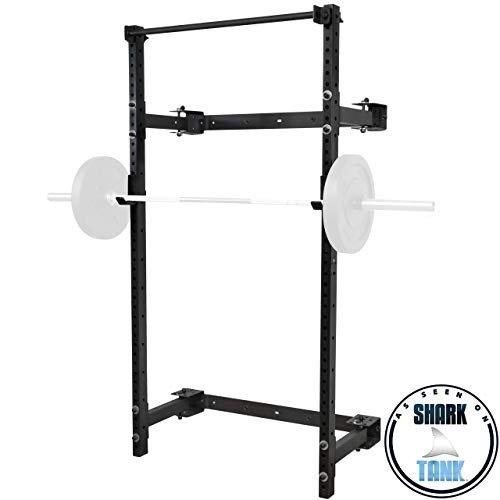 華麗 PRx J-C Pull Performance Murphy Rack Fold in Squat Lifting Rack, Wall Mounted Folding Power Rack, Weight Lifting Power Rack with Adjustable Pull Up Bar, Heavy Duty J-C, フカエチョウ:d5c1edf1 --- airmodconsu.dominiotemporario.com