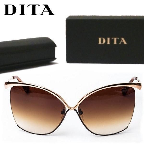 大きい割引 DITA ディータ EXQUIS 12K 23006-A-BRN-GLD キャット アイ バタフライ サングラス レディース ブラウン ブラウン/ 12K ゴールド 23006-A-BRN-GLD, トノショウチョウ:e4071bbb --- fresh-beauty.com.au