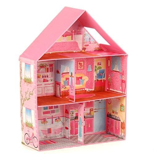 Calego製 折りたたみ式ドールハウス(ハウス・お人形遊び)