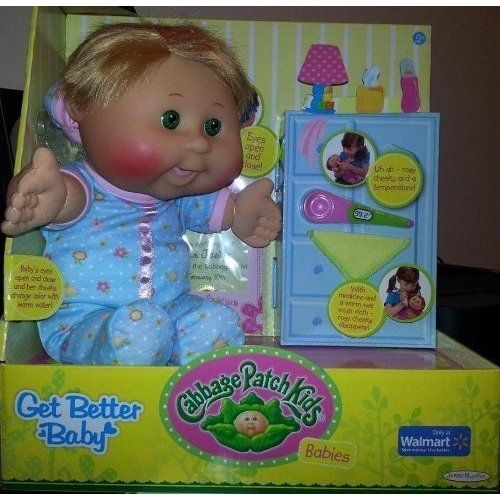 Cabbage Patch Kids Get Better Baby Caucasian Blond Girl, 12.5