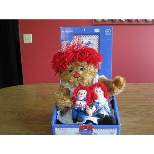 Raggedy Ann & Andy with a Special Friend