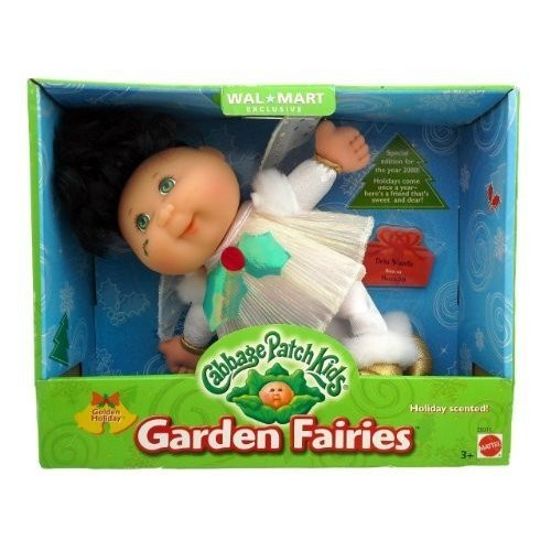 Cabbage Patch Kids Garden Fairies, ゴールドen Holiday - Reti赤 Holiday Edition