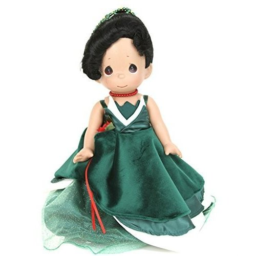 Precious Moments Disney Christmas Dreams Tiana Doll Princess and the Frog