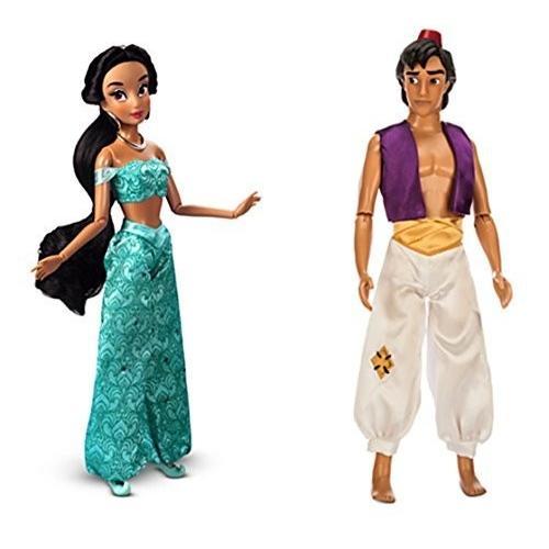 Disney Store Princess Jasmine & Aladdin Classic 12
