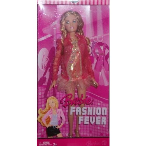 Barbie Fashion Fever Summer with ピンク Sheer Fairy Tales Style Dress