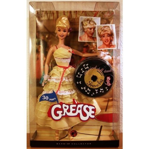 Barbie ピンク Label Collector Collection 30 Years Anniversary Grease 12 Inch Doll - Frenchy with Yell