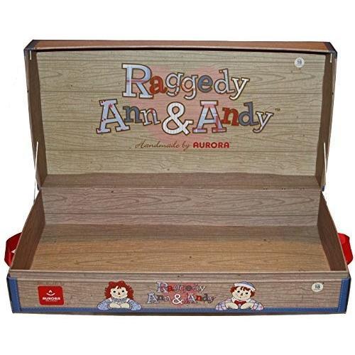 Raggedy Ann & Raggedy Andy Counter Display Box for Dolls