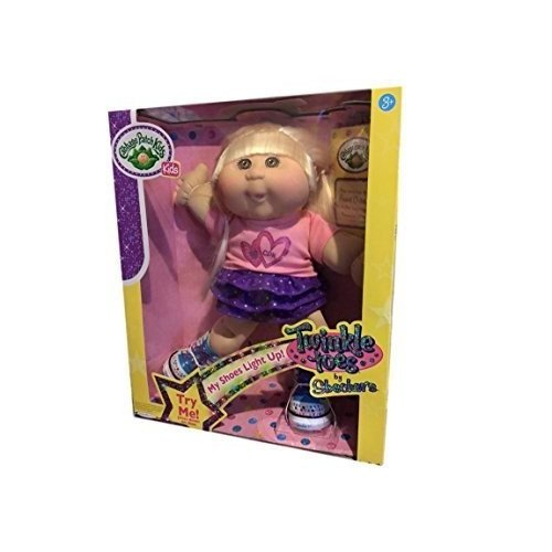 Cabbage Patch Kids Twinkle Toes: Caucasian Girl Doll, Blonde, 褐色 Eyes