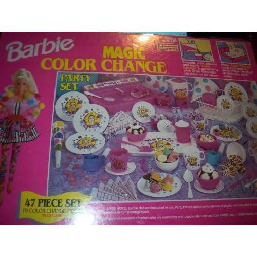 Barbie Magic Color Change Party Set 47 Pieces