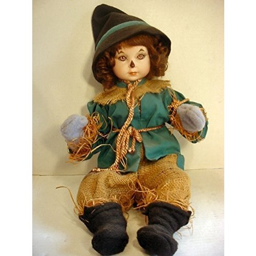 Marie Osmond Wizard of Oz Baby Scarecrow Hand Numbered Porcelain Doll