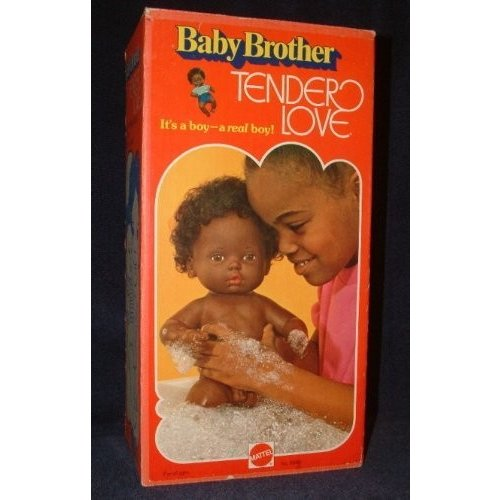 Baby Brother Tender Love African-amercian 1975
