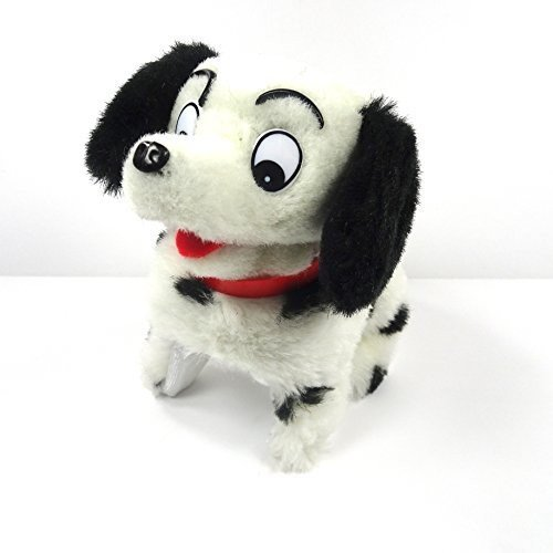 Cute Dalmatian Puppy That Walks, Sits Down And Barks Battery Operated Toy Puppy In The Box