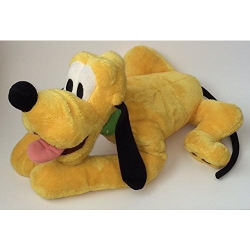 Pluto Laying 13'' Floppy Plush by Disney