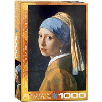 Girl with A Pearl Earring by Vermeer 1000-Piece Puzzle おもちゃ