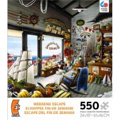 Weekend Escape Joe Roy Bait Fishing Shop Jigsaw Puzzle おもちゃ