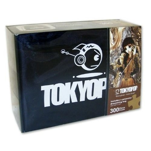 TOKYOPOP 'Bizenghast - Violin Dinah' 300 Piece Puzzle with Reuseable Drawstring Gift Bag