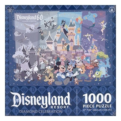 Disneyland 60th Diamond Anniversary Celebration 1000 Piece Jigsaw Puzzle by Disney