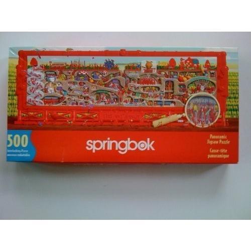 Springbok Ant Farm 500 Piece Panormic Puzzle