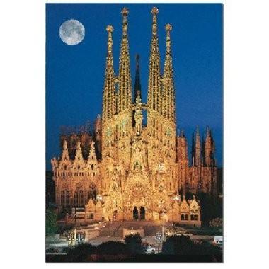 Sagrada Famila, Barcelona, Spain (1000 pc puzzle) by John N. Hansen