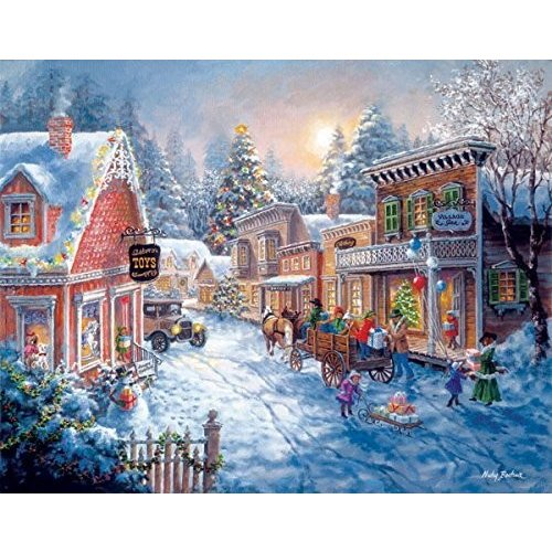 Good Old Days a 6000-Piece Jigsaw Puzzle by Sunsout Inc. by SunsOut