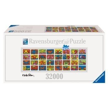 Keith Haring: Double Retrospect - 32000 Pieces Puzzleおもちゃ
