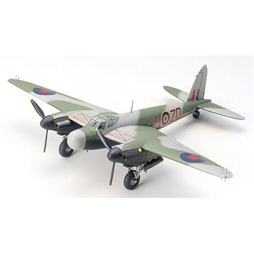#60765 Tamiya De Havilland Mosquito NF Mk. XII/XVII 1/72 Scale Plastic Model Kit,Needs Assembly