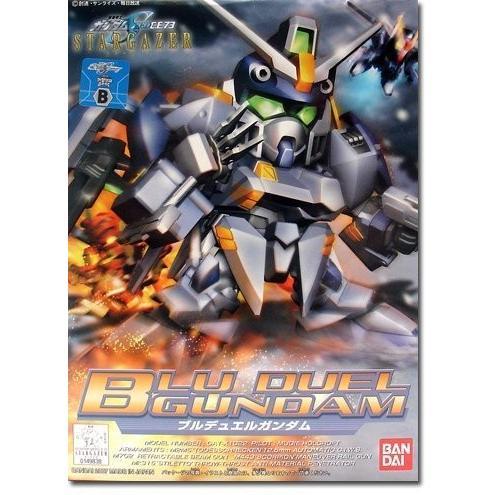 Gundam SD-295 青 Duel Gundam - BB Gundam Seed C.E. 73 Model Kit (Japanese Import)