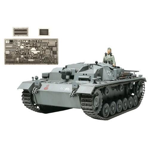 Tamiya 25143 1/35 German Sturmgeschutz III AusfB w/ABER PE Prt