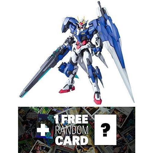 GN-0000/7S 00 Gundam Seven Sword/G: MG Gundam Master Grade 1/100 Model Kit + 1 FREE Official Gundam