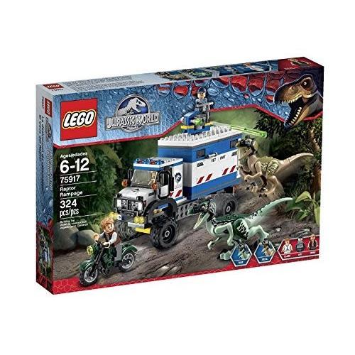 レゴ LEGO ジュラシックワールド ラプター・ラムペイジ 75917