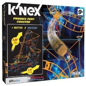 K'NEX (ケネックス) Thrill Rides Phoenix Fury Roller Coaster Building Set ブロック おもちゃ