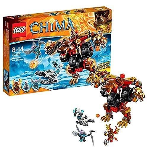 レゴ チーマ ブラビックのランブルベアー 70225 LEGO Chima Bladvic's Rumble Bear Building Set
